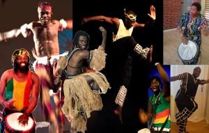 Guineansk dans och trumshow på Dansmuseet 6 juni
