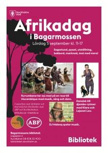 Afrikadag i Bagarmossen 2015-09-05