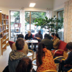 Författarsamtal med Christian Epanya på biblioteket